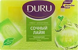 """Духи, Парфюмерия, косметика Мыло для душа """"Сочный лайм"""" - Duru Fresh Sensations Lime Soap"""
