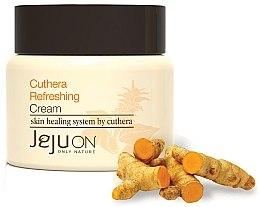 Духи, Парфюмерия, косметика Освежающий крем для лица - Jejuon Cuthera Refreshing Cream