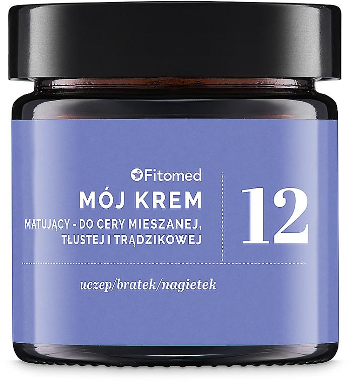 Крем для комбинированной и жирной кожи №12 - Fitomed My Cream No. 12