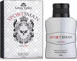 Духи, Парфюмерия, косметика Lotus Valley Sports Man - Туалетная вода