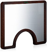 Духи, Парфюмерия, косметика Зеркало косметическое - Y.S.Park Professional Concave Level Mirror Mahagony