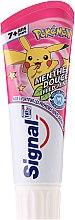 Духи, Парфюмерия, косметика Детская зубная паста, розовая - Signal Junior Pokemon Toothpaste
