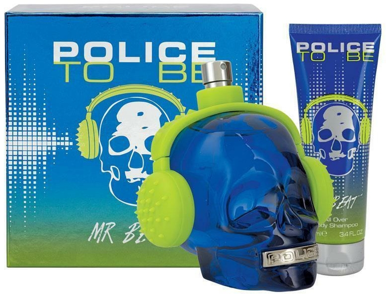 Police To Be Mr Beat - Набор (edt/75ml + sh/gel/100ml)