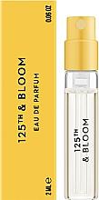 Духи, Парфюмерия, косметика Vilhelm Parfumerie 125th & Bloom - Парфюмированная вода (пробник)