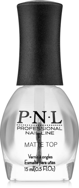 Верхнее покрытие с матовым эффектом - PNL Professional Nail Line №425 Matte Top Coat