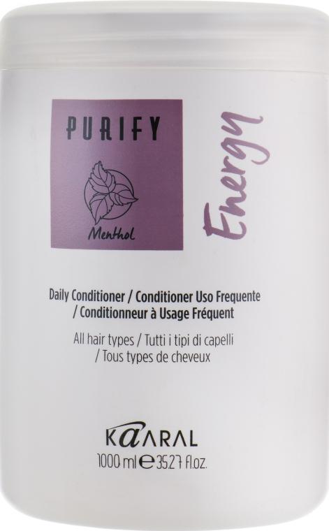 Энергетический крем-кондиционер с экстрактом свежей мяты и ментола - Kaaral Purify Energy Conditioner