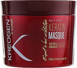Духи, Парфюмерия, косметика Маска для сухих и поврежденных волос - Kreogen Keratin Masque