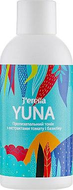 Противовоспалительное тоник с экстрактами томата и базилика - J'erelia Yuna Face Tonic