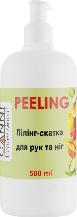 Пилинг-скатка с фруктовыми кислотами для рук и ног - Canni Peeling