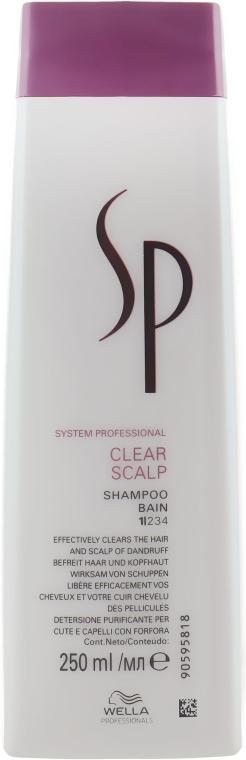 Шампунь против перхоти - Wella SP Clear Scalp Shampoo