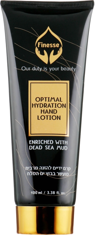 Крем для рук на основе грязи Мертвого моря - Finesse Optimal Hydration Hand Lotion