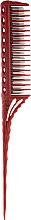 Духи, Парфюмерия, косметика Расческа для начеса, 218 мм, красная - Y.S.Park Professional 150 Tail Combs Red