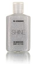 Духи, Парфюмерия, косметика УЦЕНКА Сияющий глиттер для тела, серебристый - Mr.Scrubber Shine Shimmering Body Glitter *