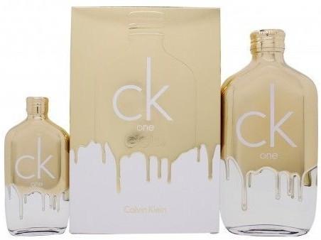 Calvin Klein CK One Gold - Набор (edt/200ml + edt/50ml)
