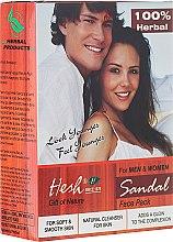 Духи, Парфюмерия, косметика Порошковая маска для лица - Hesh Sandal Face Pack