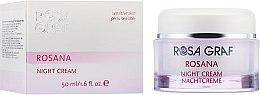 Духи, Парфюмерия, косметика Ночной крем для чувствительной кожи - Rosa Graf Rosana Night Cream