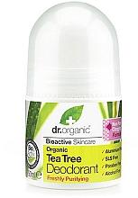 "Духи, Парфюмерия, косметика Дезодорант ""Чайное дерево"" - Dr. Organic Bioactive Skincare Tea Tree Roll-On Deodorant"
