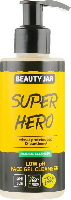 """Гель для умывания """"Super hero"""" - Beauty Jar Low Ph Face Gel Cleanser"""