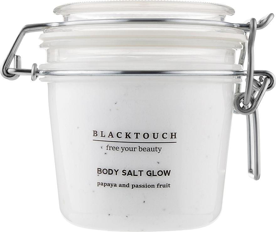 """Солевой скраб-суфле для тела """"Папайя-маракуйя"""" - BlackTouch Papaya and Passion Fruit Body Salt Glow"""