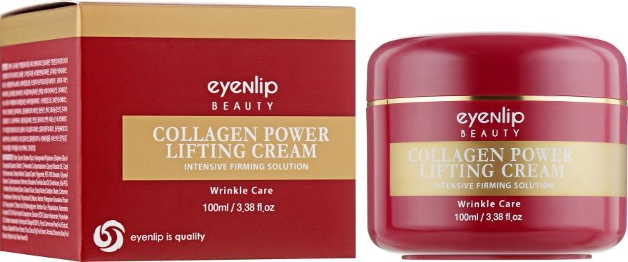 Лифтинг крем с коллагеном - Eyenlip Collagen Power Lifting Cream