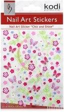 Духи, Парфюмерия, косметика Наклейки для дизайна ногтей - Kodi Professional Nail Art Stickers SP024