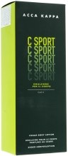 Духи, Парфюмерия, косметика Лосьон для тела - Acca Kappa C-Sport Cedar Body Lotion