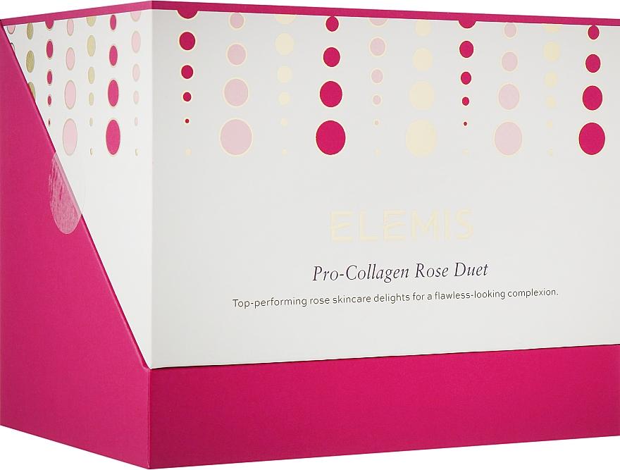 Набор - Elemis Pro-Collagen Rose Duet (clean/balm/100g+oil/15ml+cloth/1pcs)