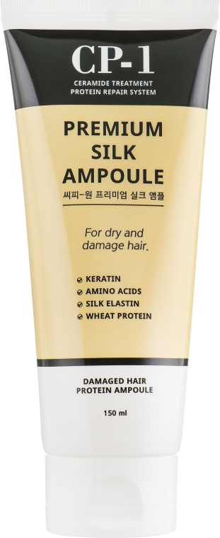 Сыворотка для волос с протеинами шелка - Esthetic House CP-1 Premium Silk Ampoule