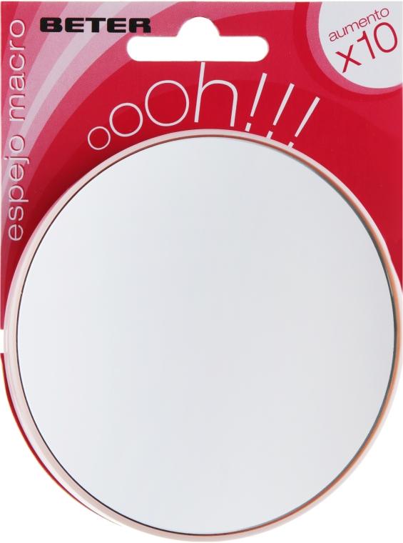 Зеркало подвесное с х10 увеличением, 8.5 см - Beter Macro Mirror Oooh XL