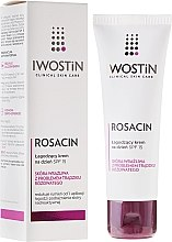 Духи, Парфюмерия, косметика Дневной крем для лица успокаивающий - Iwostin Rosacin Soothing Day Cream Against Redness SPF 15