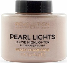 Духи, Парфюмерия, косметика Хайлайтер рассыпчатый для лица - Makeup Revolution Pearl Lights Loose Highlighter