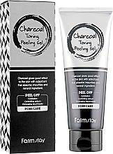 Духи, Парфюмерия, косметика Отшелушивающий гель с углем - Farmstay Charcoal Toning Peeling Gel