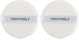 Духи, Парфюмерия, косметика Спонж-пуховка для нанесения пудры - Tony Moly Flocking Puff Circle