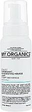 Духи, Парфюмерия, косметика Увлажняющий мусс-термозащита для укладки - My.Organics My Hydrating Mousse Light