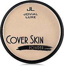 Духи, Парфюмерия, косметика Пудра компактная - Jovial Luxe Cover Skin Powder