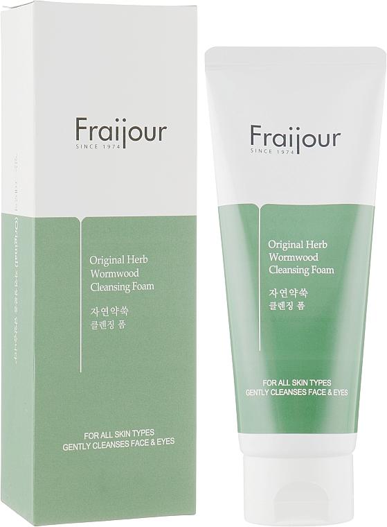 """Пенка для умывания """"Растительные экстракты"""" - Fraijour Original Herb Wormwood Cleansing Foam"""