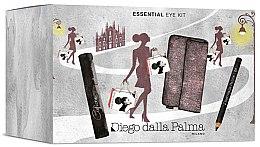 Духи, Парфюмерия, косметика Набор для глаз - Diego Dalla Palma Essential Eye Kit (mascara/11ml+eye/pencil/2.5g+bag)