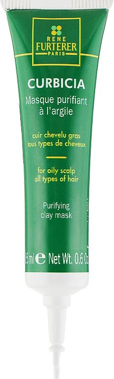 Очищающая маска - Rene Furterer Curbicia Purifying Clay Mask