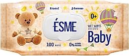 Духи, Парфюмерия, косметика Влажные салфетки для детей - Esme Baby Wet Wipes