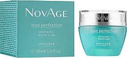 Духи, Парфюмерия, косметика Ночной обновляющий крем-бальзам - Oriflame NovAge True Perfection Night Cream