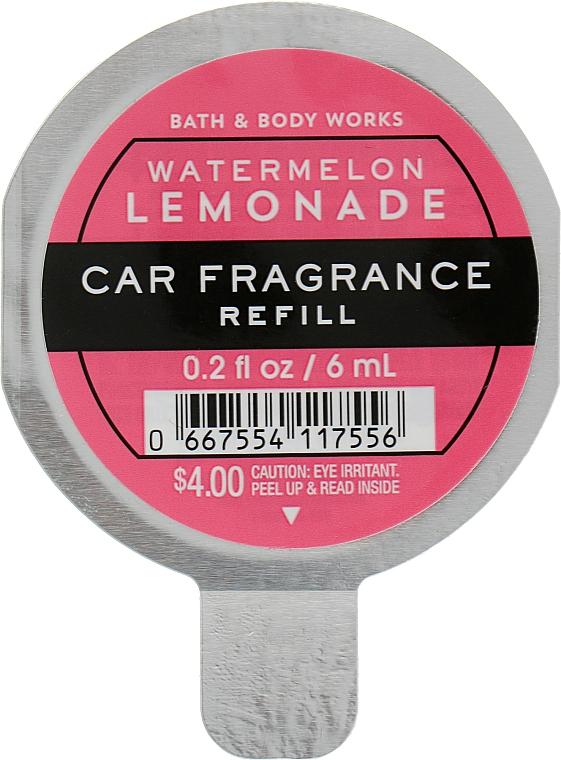 Bath And Body Works White Barn Watermelon Lemonade Car Fragrance Refill - Ароматизатор для авто (сменный блок)