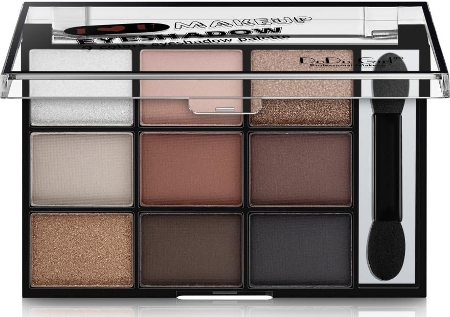 Палетка для макияжа глаз - DoDo Girl 9 Colors Eyeshadow Palette
