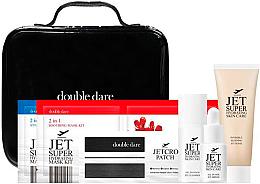 Духи, Парфюмерия, косметика Набор - Double Dare Jet Super Hydrating Travel Kit (mask/33ml+mask/33ml+oil/10ml+ser/5ml+mask/15ml+h/patch)