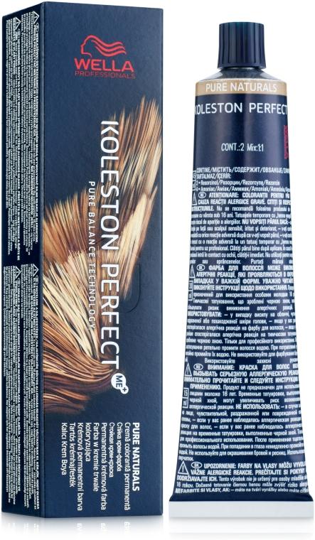 Краска для волос - Wella Professionals Koleston Perfect ME+ Pure Naturals