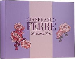 Духи, Парфюмерия, косметика Gianfranco Ferre Blooming Rose - Набор (edt/50ml + b/lotion/100ml)