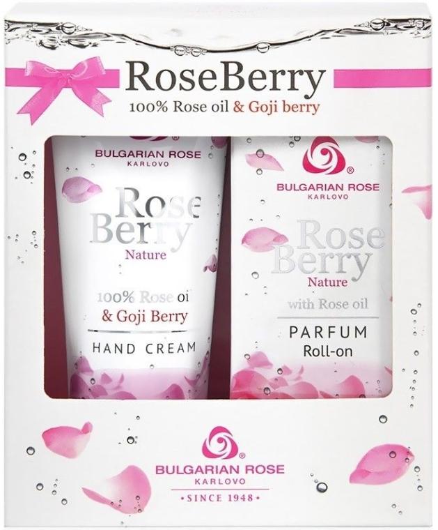 Набор - Bulgarian Rose Rose Berry Nature (h/cr/75ml+parfum/9ml)