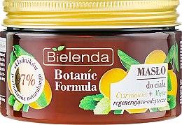 """Духи, Парфюмерия, косметика Масло для тела """"Лимон и Мята"""" - Bielenda Botanic Formula Lemon Tree+Mint Body Butter"""