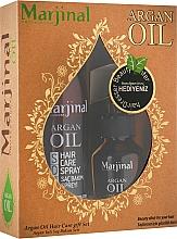 Духи, Парфюмерия, косметика Набор для восстановления волос - Marjinal Argan Hair Treatment (argan/oil/100ml + argan/spray/250ml)