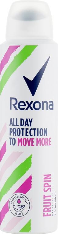Антиперспирант-спрей - Rexona Fruit Spin Antiperspirant Deodorant Spray