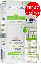 Духи, Парфюмерия, косметика Набір - Pharmaceris T (serum/30ml + foam/50ml)